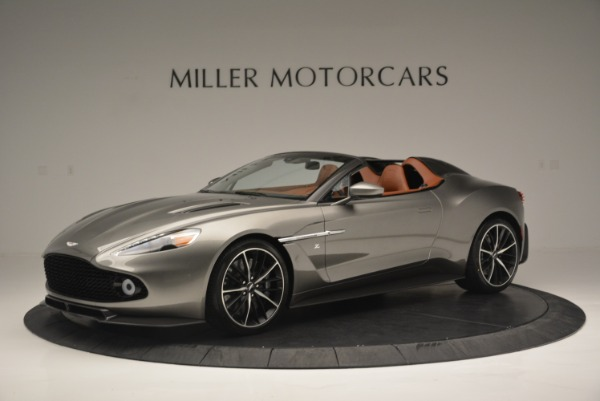 Used 2018 Aston Martin Zagato Speedster Convertible for sale Sold at Bentley Greenwich in Greenwich CT 06830 1