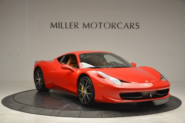 Used 2014 Ferrari 458 Italia for sale Sold at Bentley Greenwich in Greenwich CT 06830 11