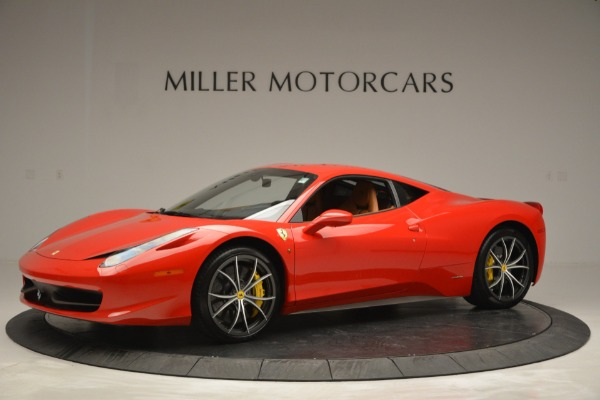 Used 2014 Ferrari 458 Italia for sale Sold at Bentley Greenwich in Greenwich CT 06830 2