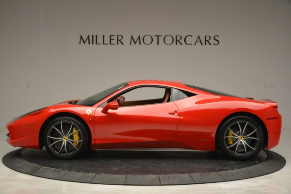 Used 2014 Ferrari 458 Italia for sale Sold at Bentley Greenwich in Greenwich CT 06830 3