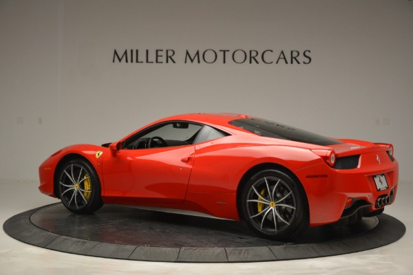 Used 2014 Ferrari 458 Italia for sale Sold at Bentley Greenwich in Greenwich CT 06830 4