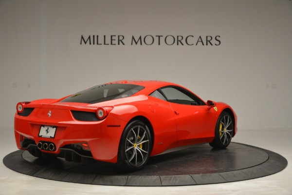 Used 2014 Ferrari 458 Italia for sale Sold at Bentley Greenwich in Greenwich CT 06830 7
