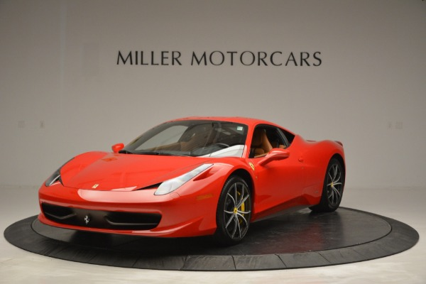 Used 2014 Ferrari 458 Italia for sale Sold at Bentley Greenwich in Greenwich CT 06830 1