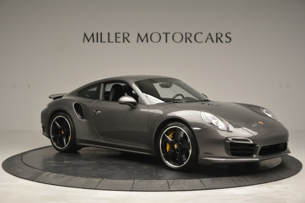 Used 2015 Porsche 911 Turbo S for sale Sold at Bentley Greenwich in Greenwich CT 06830 10
