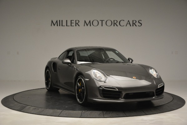 Used 2015 Porsche 911 Turbo S for sale Sold at Bentley Greenwich in Greenwich CT 06830 11