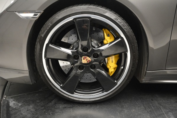Used 2015 Porsche 911 Turbo S for sale Sold at Bentley Greenwich in Greenwich CT 06830 13