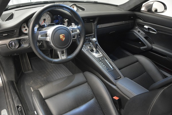 Used 2015 Porsche 911 Turbo S for sale Sold at Bentley Greenwich in Greenwich CT 06830 14