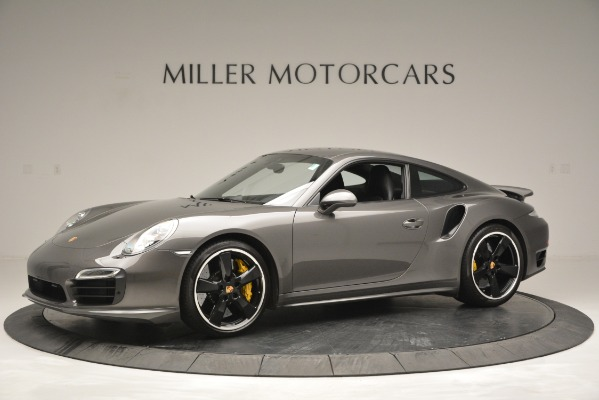Used 2015 Porsche 911 Turbo S for sale Sold at Bentley Greenwich in Greenwich CT 06830 2