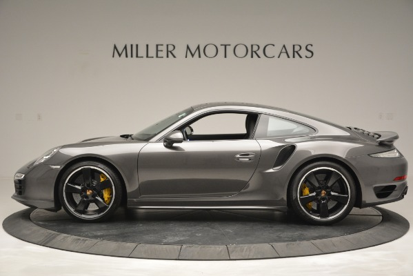 Used 2015 Porsche 911 Turbo S for sale Sold at Bentley Greenwich in Greenwich CT 06830 3