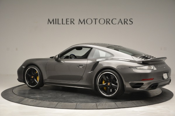 Used 2015 Porsche 911 Turbo S for sale Sold at Bentley Greenwich in Greenwich CT 06830 4
