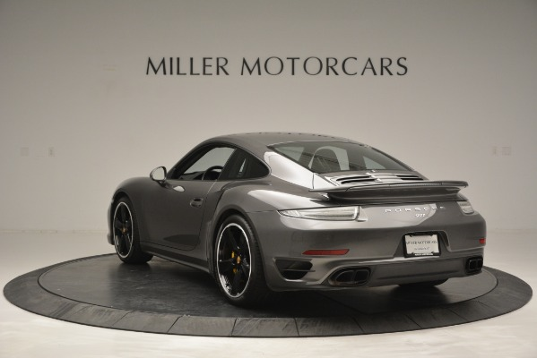 Used 2015 Porsche 911 Turbo S for sale Sold at Bentley Greenwich in Greenwich CT 06830 5