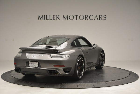 Used 2015 Porsche 911 Turbo S for sale Sold at Bentley Greenwich in Greenwich CT 06830 7