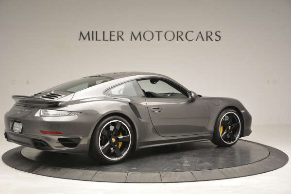 Used 2015 Porsche 911 Turbo S for sale Sold at Bentley Greenwich in Greenwich CT 06830 8