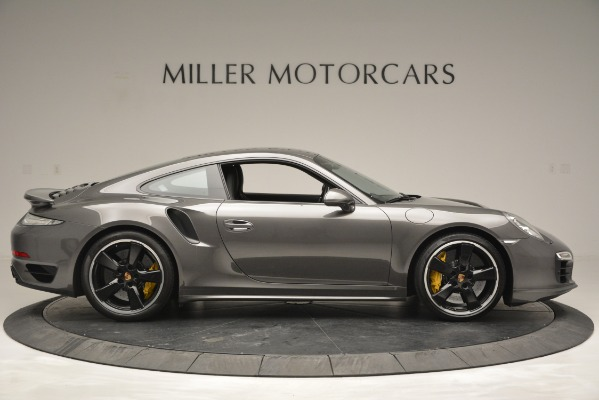 Used 2015 Porsche 911 Turbo S for sale Sold at Bentley Greenwich in Greenwich CT 06830 9