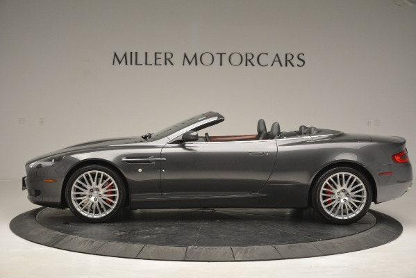 Used 2009 Aston Martin DB9 Convertible for sale Sold at Bentley Greenwich in Greenwich CT 06830 3