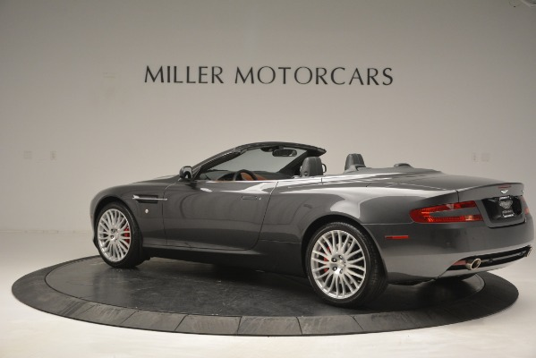 Used 2009 Aston Martin DB9 Convertible for sale Sold at Bentley Greenwich in Greenwich CT 06830 4