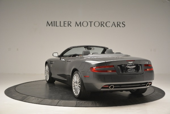 Used 2009 Aston Martin DB9 Convertible for sale Sold at Bentley Greenwich in Greenwich CT 06830 5