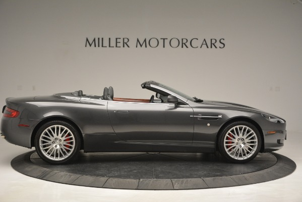 Used 2009 Aston Martin DB9 Convertible for sale Sold at Bentley Greenwich in Greenwich CT 06830 9