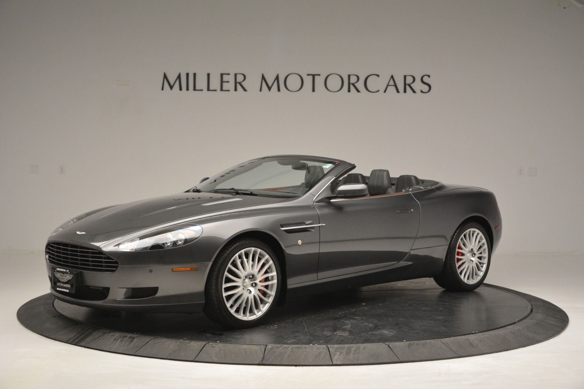 Used 2009 Aston Martin DB9 Convertible for sale Sold at Bentley Greenwich in Greenwich CT 06830 1