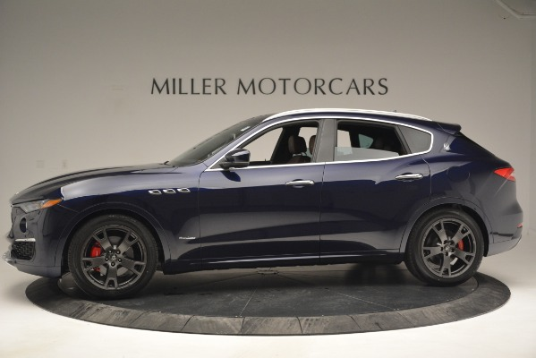 New 2019 Maserati Levante Q4 GranLusso for sale Sold at Bentley Greenwich in Greenwich CT 06830 3