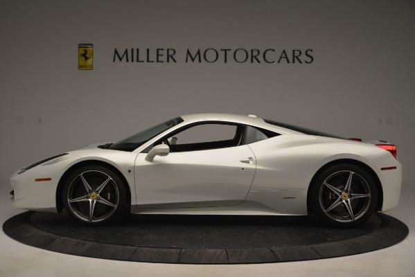 Used 2014 Ferrari 458 Italia for sale Sold at Bentley Greenwich in Greenwich CT 06830 3