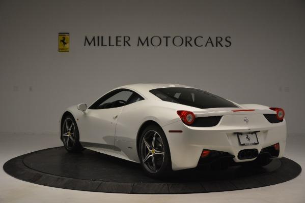 Used 2014 Ferrari 458 Italia for sale Sold at Bentley Greenwich in Greenwich CT 06830 5