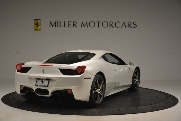 Used 2014 Ferrari 458 Italia for sale Sold at Bentley Greenwich in Greenwich CT 06830 7