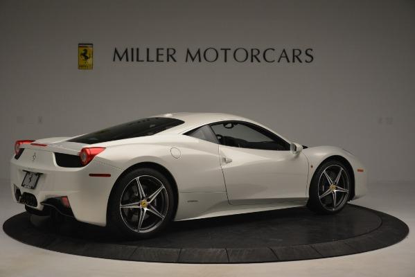 Used 2014 Ferrari 458 Italia for sale Sold at Bentley Greenwich in Greenwich CT 06830 8
