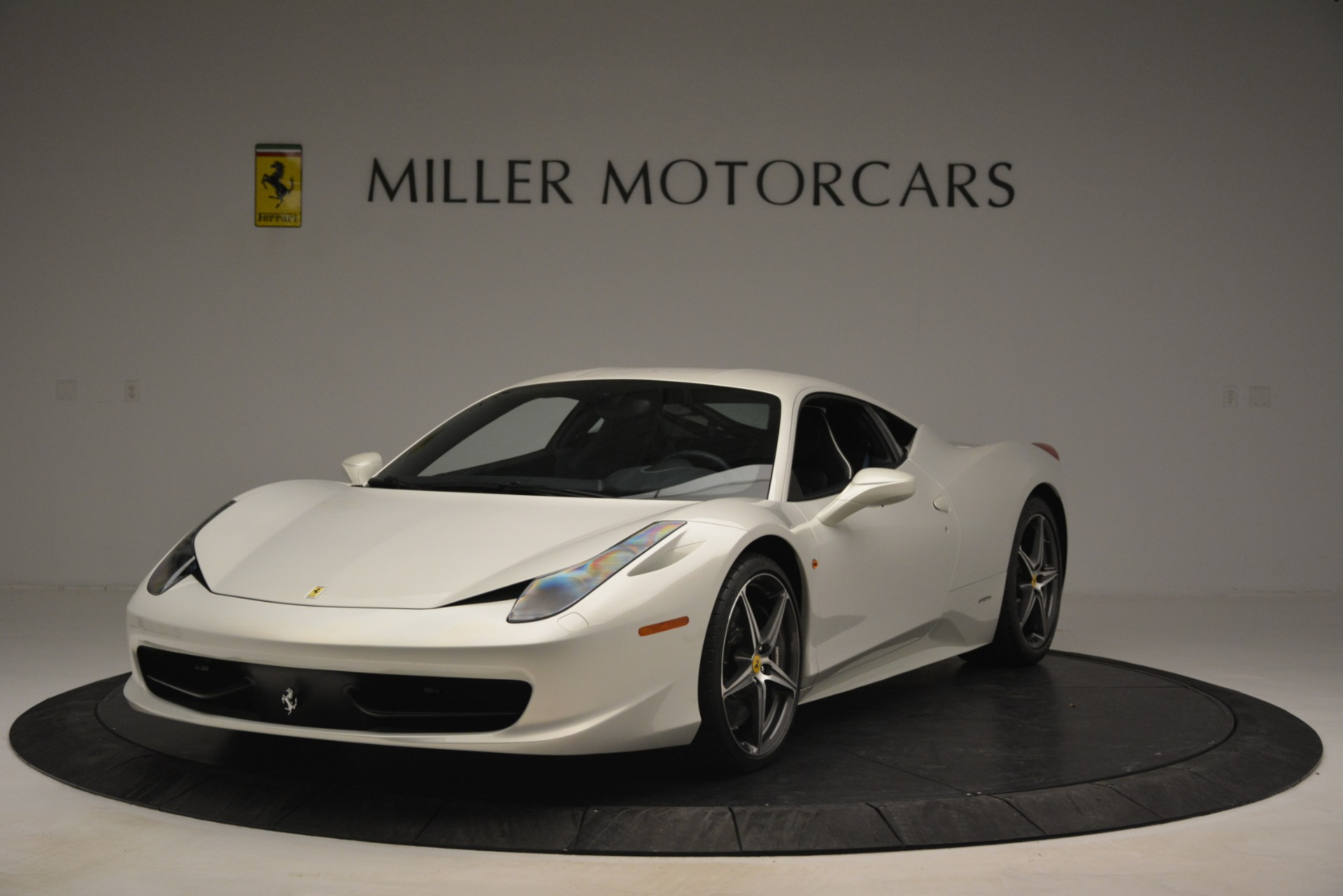 Used 2014 Ferrari 458 Italia for sale Sold at Bentley Greenwich in Greenwich CT 06830 1