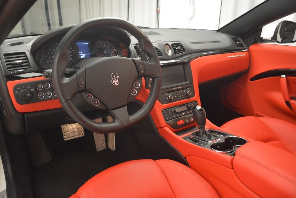 Used 2017 Maserati GranTurismo Sport for sale Sold at Bentley Greenwich in Greenwich CT 06830 26