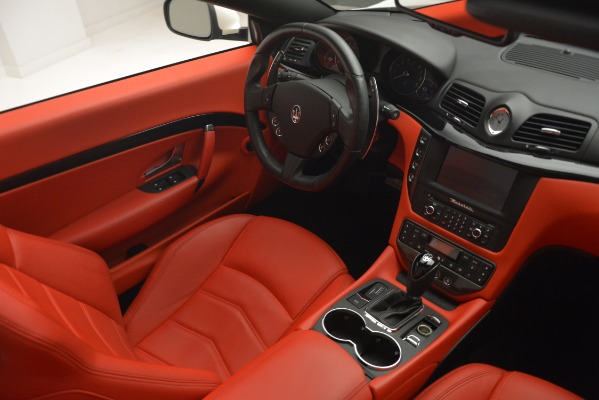 Used 2017 Maserati GranTurismo Sport for sale Sold at Bentley Greenwich in Greenwich CT 06830 27