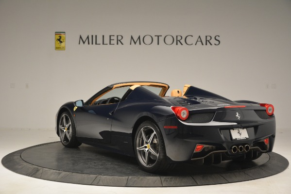 Used 2014 Ferrari 458 Spider for sale Sold at Bentley Greenwich in Greenwich CT 06830 5