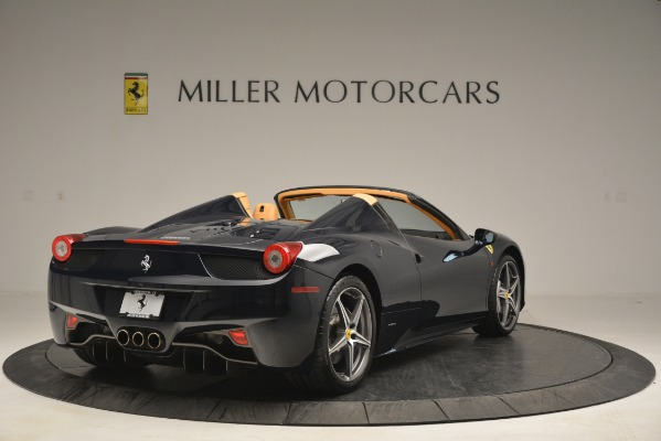 Used 2014 Ferrari 458 Spider for sale Sold at Bentley Greenwich in Greenwich CT 06830 7