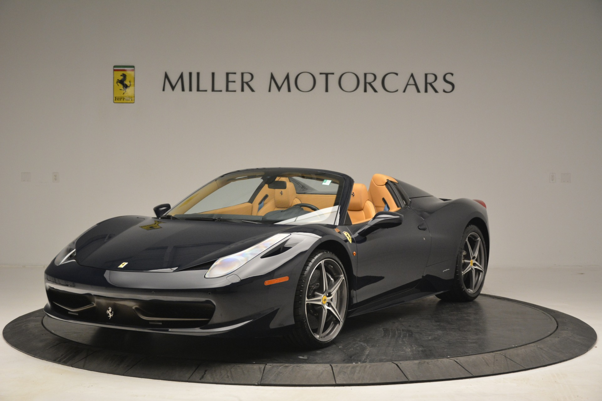 Used 2014 Ferrari 458 Spider for sale Sold at Bentley Greenwich in Greenwich CT 06830 1