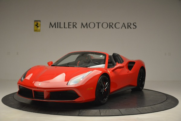 Used 2017 Ferrari 488 Spider for sale Sold at Bentley Greenwich in Greenwich CT 06830 1