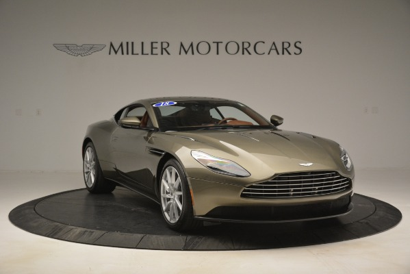 Used 2018 Aston Martin DB11 V12 Coupe for sale Sold at Bentley Greenwich in Greenwich CT 06830 11