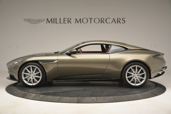 Used 2018 Aston Martin DB11 V12 Coupe for sale Sold at Bentley Greenwich in Greenwich CT 06830 3