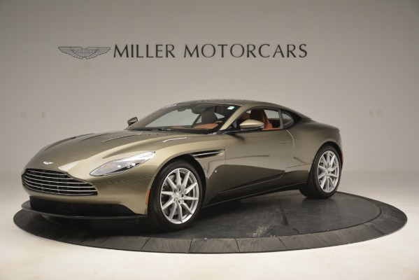 Used 2018 Aston Martin DB11 V12 Coupe for sale Sold at Bentley Greenwich in Greenwich CT 06830 1