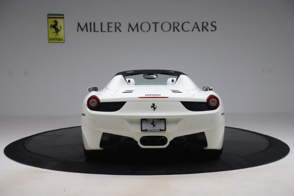 Used 2015 Ferrari 458 Spider for sale Sold at Bentley Greenwich in Greenwich CT 06830 6