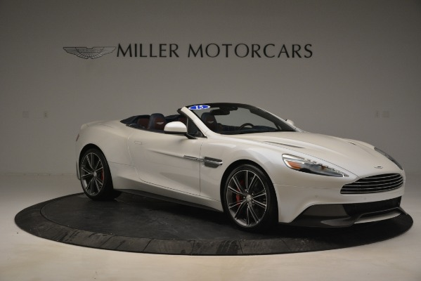 Used 2015 Aston Martin Vanquish Convertible for sale Sold at Bentley Greenwich in Greenwich CT 06830 10