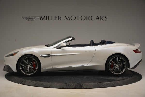 Used 2015 Aston Martin Vanquish Convertible for sale Sold at Bentley Greenwich in Greenwich CT 06830 3