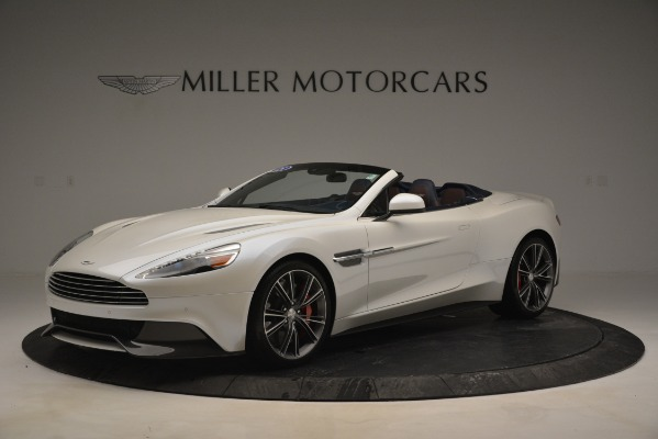 Used 2015 Aston Martin Vanquish Convertible for sale Sold at Bentley Greenwich in Greenwich CT 06830 1