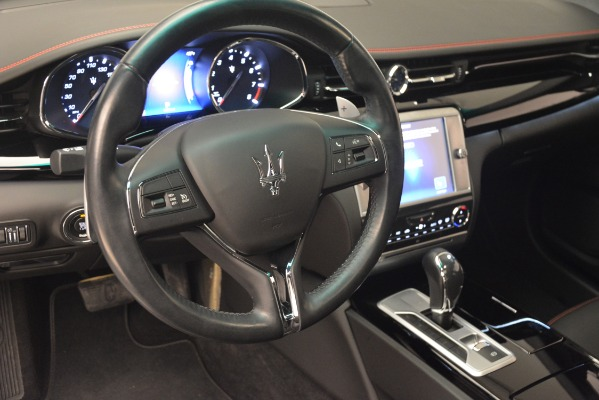 Used 2015 Maserati Quattroporte GTS for sale Sold at Bentley Greenwich in Greenwich CT 06830 15