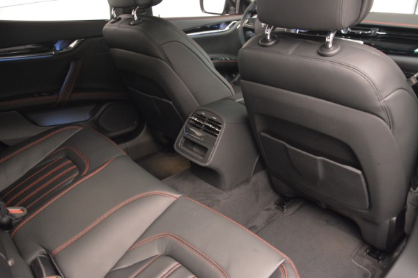 Used 2015 Maserati Quattroporte GTS for sale Sold at Bentley Greenwich in Greenwich CT 06830 22