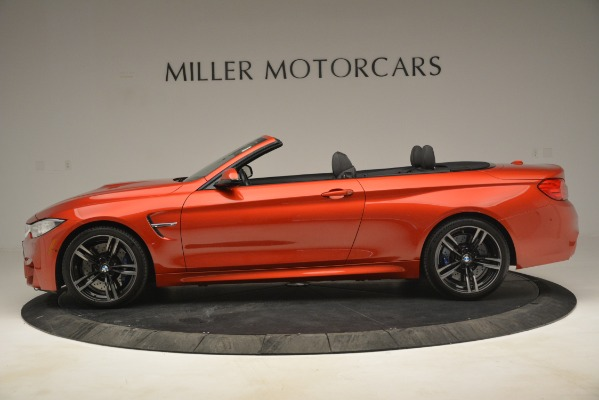 Used 2016 BMW M4 for sale Sold at Bentley Greenwich in Greenwich CT 06830 3