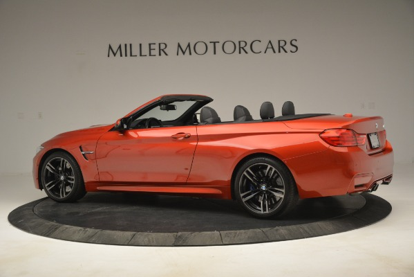 Used 2016 BMW M4 for sale Sold at Bentley Greenwich in Greenwich CT 06830 4