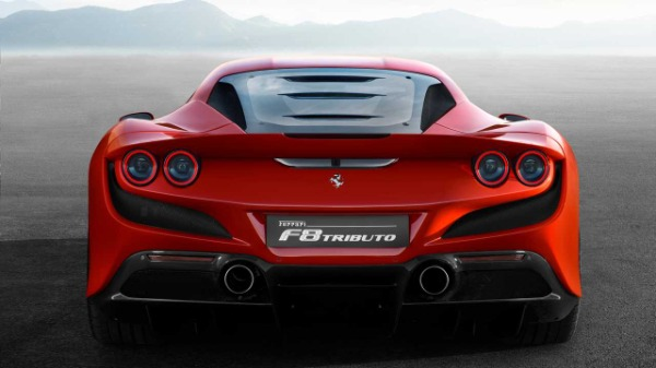 New 2020 Ferrari F8 Tributo for sale Call for price at Bentley Greenwich in Greenwich CT 06830 5