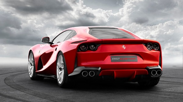 New 2021 Ferrari 812 Superfast for sale Call for price at Bentley Greenwich in Greenwich CT 06830 3