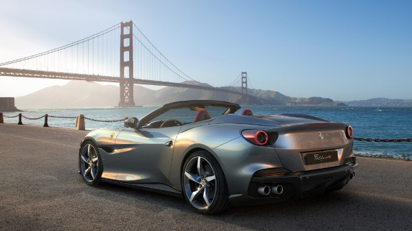 New 2020 Ferrari Portofino for sale Call for price at Bentley Greenwich in Greenwich CT 06830 3