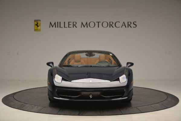 Used 2014 Ferrari 458 Spider for sale Sold at Bentley Greenwich in Greenwich CT 06830 12